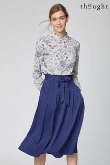 Thought Blue Sandreen Skirt