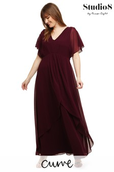 Studio 8 Burgundy Nova Dress