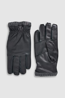 Mens Gloves Leather Gloves For Men Next Official Site