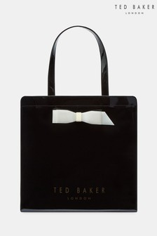 dcace7f91 Ted Baker Black Bow Icon Shopper