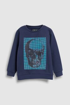 Skull Sweat Top (3-16yrs)