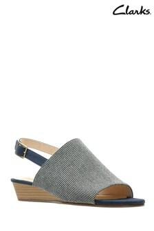 1b3a15723f725 Buy Women s footwear Footwear Blue Blue Sandals Sandals Clarks ...