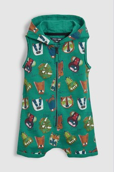 Animal All-Over Print All-In-One (3mths-6yrs)