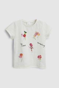 Embroidered T-Shirt (3mths-6yrs)