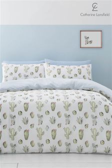 Catherine Lansfield Cactus Easy Care Bed Set