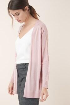 Lace Sleeve Cardigan