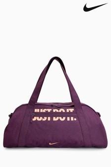 Nike Burgundy Club Duffle Bag