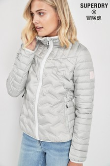 Superdry Grey Down Jacket