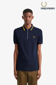 Fred Perry Vinyl Tipped Polo Shirt