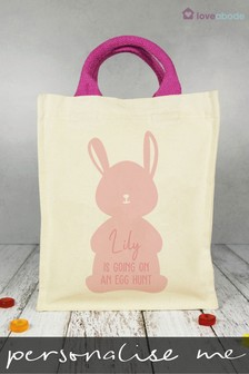 Personalised Easter Bunny Bag by Loveabode