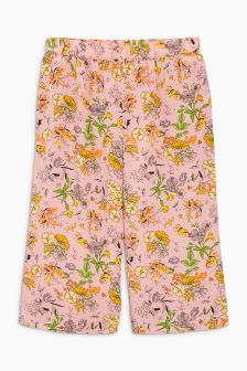 Floral Print Bright Culottes (3-16yrs)