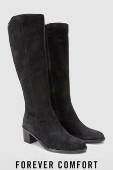 Forever Comfort Long Zip Boots