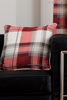 Balmoral Check Cushion by Fusion