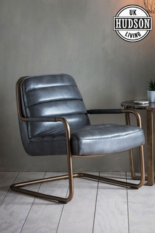 Soho Pewter Chair By Hudson Living