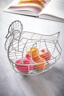 Duck Fruit Bowl