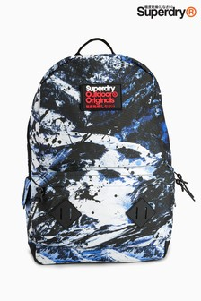 Superdry Navy/White Alpine Mountain Backpack