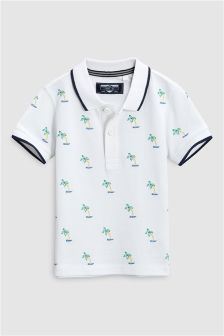 Short Sleeve Embroidered Polo (3mths-6yrs)