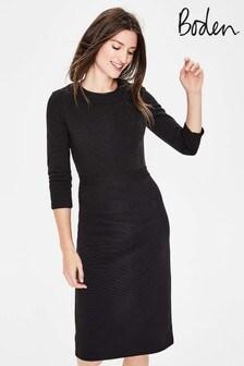 Boden Black Mia Ottoman Dress