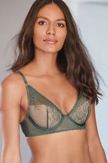 Phoebe Lace High Apex Light Pad Balcony Bra