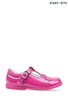 Start-Rite Star Gaze Berry Glitter Patent Shoes