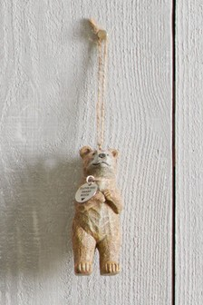 Resin Bear Hanging Decoration