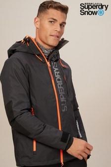 ז'קט סקי מדגם Snow של Superdry בצבע שחור