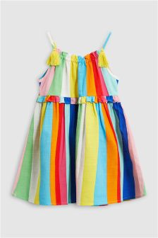 Bright Stripe Dress (3mths-6yrs)