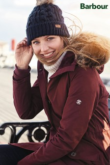 Barbour® Coastal Bordeaux Waterproof Tellin Parka