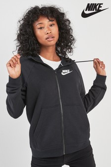 Sweat à capuche Nike Rally à fermeture zippée
