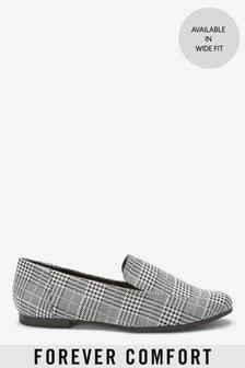 Лоферы с округлым носком