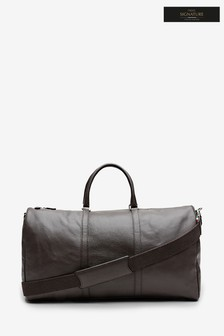 Signature Made In Italy Leather Holdall