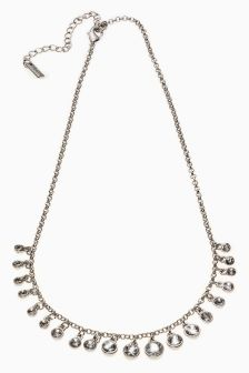 Jewelled Short Necklace