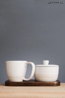 Set of 2 Artisan Street Sugar Bowl And Milk Jug Set