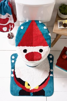 Santa Mat 2 Piece Set