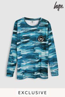Hype. Backprint Long Sleeve T-Shirt