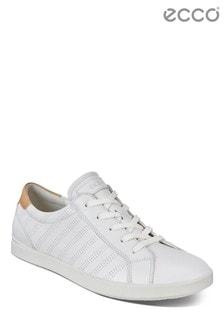 ECCO® White Lace Up Shoe