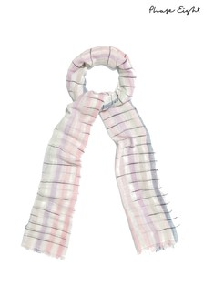 Phase Eight Multi Phoebe Stripe Scarf