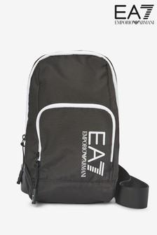 Emporio Armani EA7 Black Mini Backpack