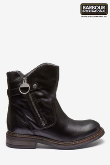 Barbour® International Costello Black Boot