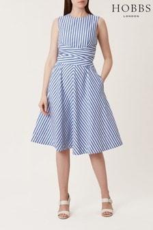 Hobbs Blue Twitchill Dress