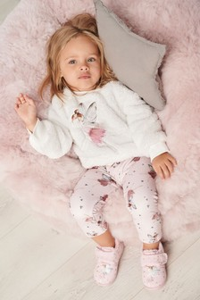 2 Piece Fairy Fleece Lounge Set (9mths-8yrs)
