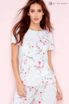 B by Ted Baker Blue Blossom Jersey Top