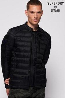 Superdry Black Qulited Jacket