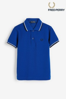 Fred Perry Kids Twin Tipped Poloshirt