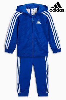 adidas Sportanzug mit 3 Streifen, Blau