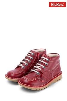 Kickers® Red Kick Hi Classic Boots