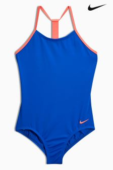 Nike Blue T-Back Swimsuit