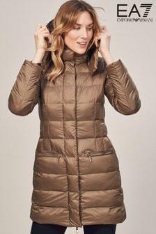 Emporio Armani EA7 Khaki Mountain Eco Longline Jacket