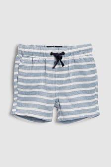 Stripe Pull-On Shorts (3mths-6yrs)
