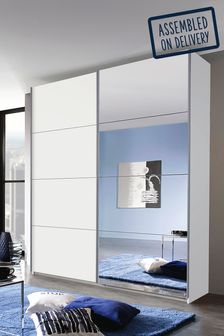 Cameron 1.81m Sliding Wardrobe By Rauch
